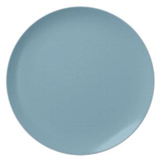 Placa Azul-Gris de Wrangler Plato De Cena