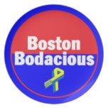 Placa Bodacious de Boston Plato De Cena