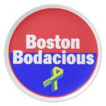 Placa Bodacious de Boston Platos De Comidas