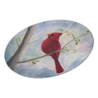 Placa cardinal platos