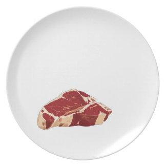 placa, carne, carne de vaca platos para fiestas