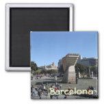 Plaça Catalunya, Barcelona Imán Cuadrado