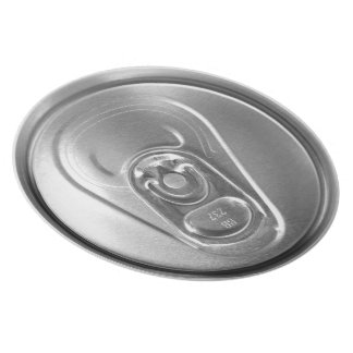 Placa cerrada de la lata platos