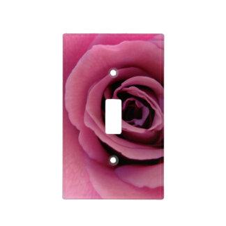 Placa color de rosa púrpura del interruptor de la placas para interruptor