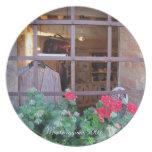 Placa - compras de la ventana en Monteriggioni Plato De Cena