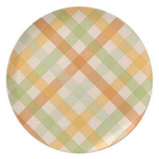 Placa - comprobada para el tulipán del álamo de tu platos