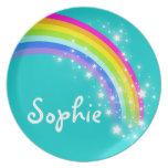 Placa conocida de los niños de los chicas de Sophi