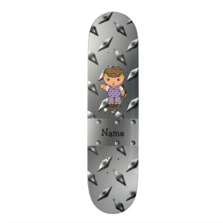 Placa conocida personalizada del diamante de la tablas de patinar