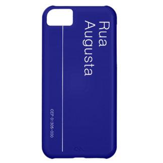 PLACA DA RUA AUGUSTA PARA IPHONE 5 CARCASA PARA iPhone 5C
