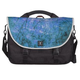 Placa de acero azul bolsas de portátil