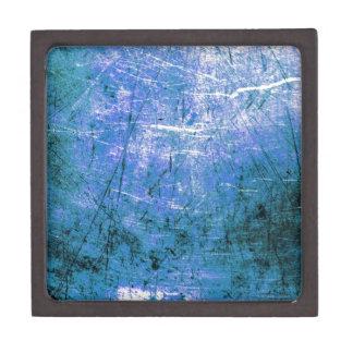 Placa de acero azul cajas de regalo de calidad