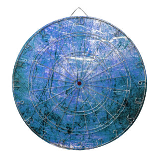 Placa de acero azul tablero de dardos