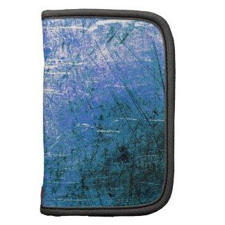Placa de acero azul planificadores