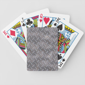 Placa de acero del diamante baraja de cartas