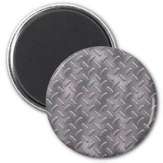 Placa de acero del diamante imán redondo 5 cm