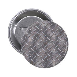 Placa de acero del diamante pin redondo de 2 pulgadas