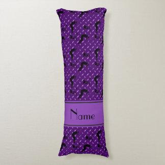 Placa de acero del diamante púrpura conocido que almohada de cuerpo entero