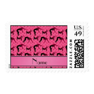 Placa de acero del diamante rosado conocido que sellos