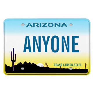 Placa de Arizona (personalizada) Imanes De Vinilo