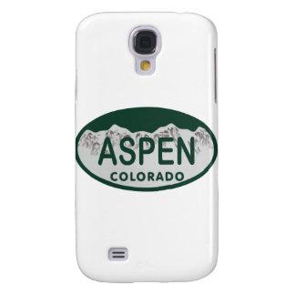 Placa de Aspen Colorado Funda Para Galaxy S4