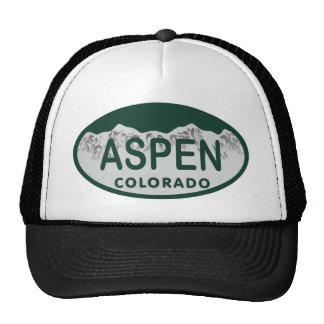 Placa de Aspen Colorado Gorro