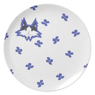 Placa de Bailey - azul Platos