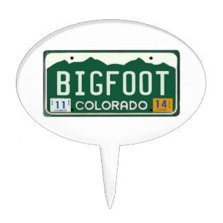 Placa de Bigfoot Colorado