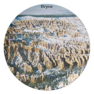 Placa de Bryce Platos