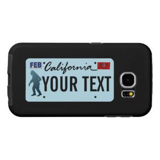 Placa de California Sasquatch Fundas Samsung Galaxy S6