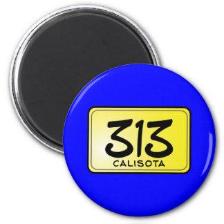 Placa de Calisota 313 Imán Redondo 5 Cm
