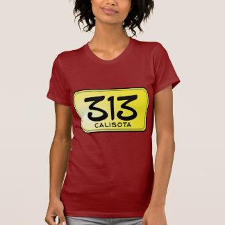 Placa de Calisota 313 Camiseta