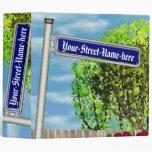 Placa de calle alemana del vintage adaptable -