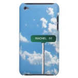 Placa de calle conocida personalizada del camino e iPod touch Case-Mate cárcasa
