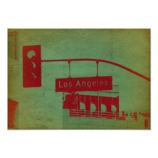 Placa de calle en Los Ángeles Fotografías