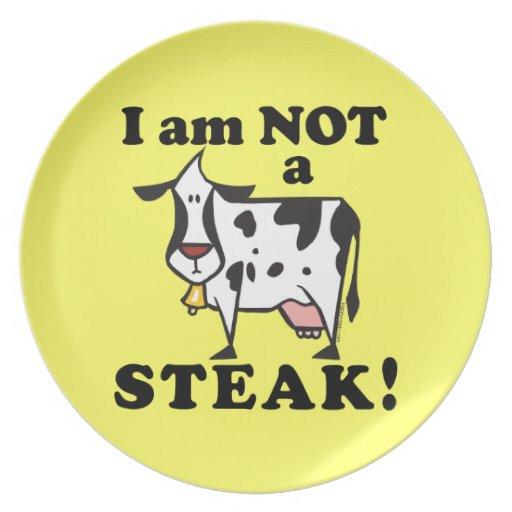 Placa de cena del vegano plato de cena