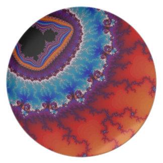 Placa de cena moderna de Geode Platos De Comidas