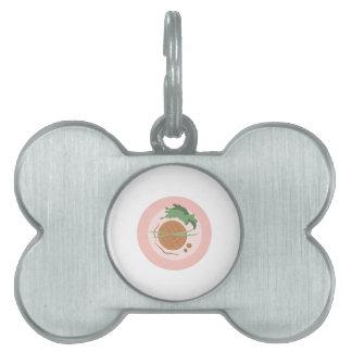 Placa de cena placas mascota