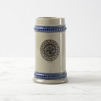 Placa de cerámica jarra de cerveza
