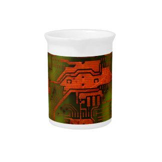 Placa de circuito 1 jarra para bebida