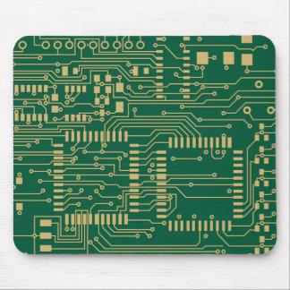 Placa de circuito alfombrillas de raton