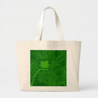 Placa de circuito bolsas de mano