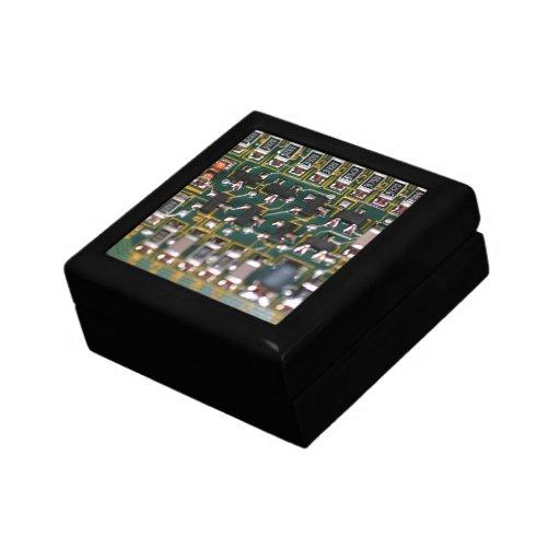 Placa de circuito cajas de recuerdo