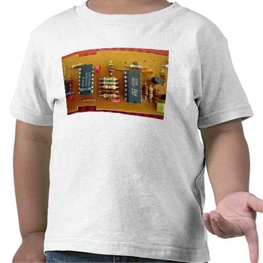 Placa de circuito camiseta