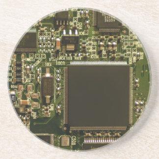 Placa de circuito de la impulsión dura del ordenad posavasos personalizados