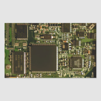 Placa de circuito de la impulsión dura del pegatina rectangular