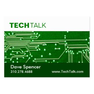 Placa de circuito de la tecnología del técnico del tarjetas de visita grandes