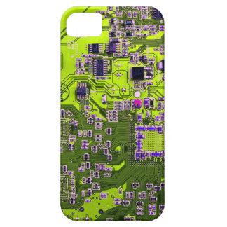 Placa de circuito del friki del ordenador - iPhone 5 funda