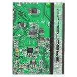 Placa de circuito del friki del ordenador - verde