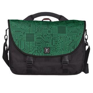 Placa de circuito del ordenador bolsas para portátil