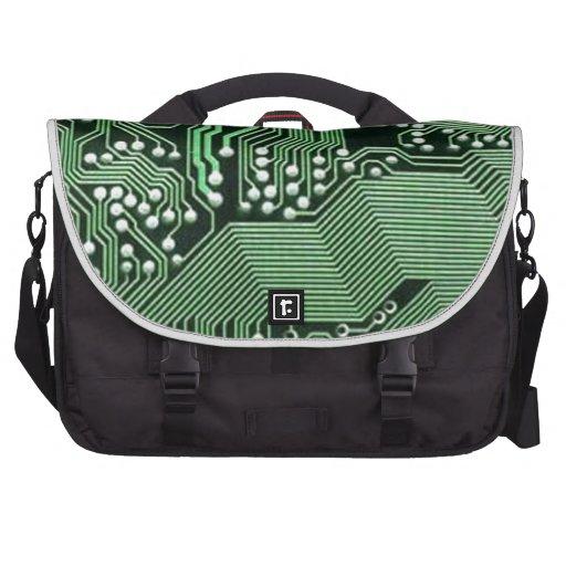 Placa de circuito del ordenador bolsas de portatil